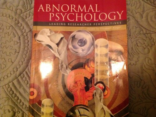 9780070144996: Abnormal Psychology; Leading Researcher Perspectives