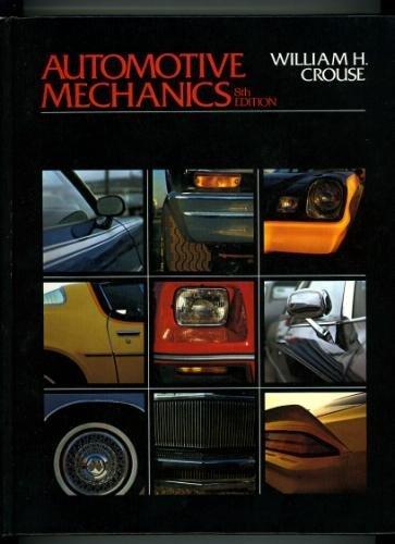 9780070145351: Automotive Mechanics