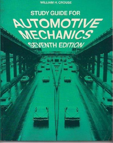 9780070145399: Study Guide for Automotive mechanics