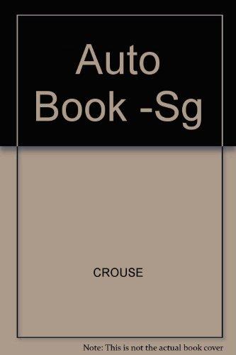 9780070145610: Auto Book -Sg