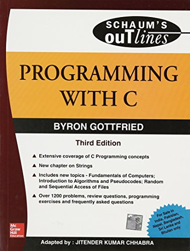 9780070145900: Programming With C