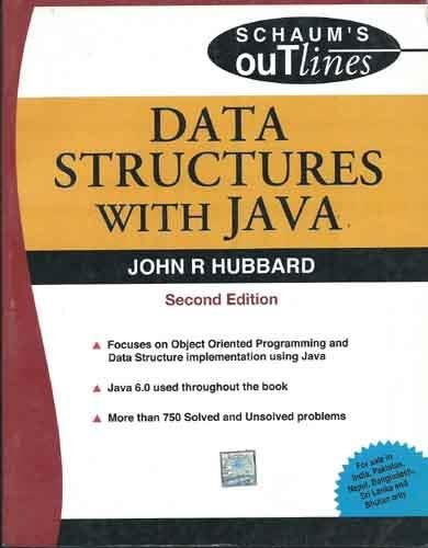 9780070146075: Data Structures with JAVA (SIE) (Schaum's Outlines Series) 2ED