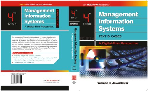 Management Information Systems: Text & Cases: Waman S. Jawadekar