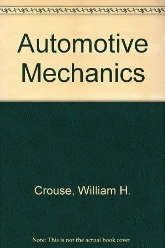 9780070146686: Automotive Mechanics
