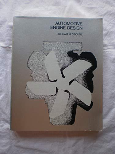 9780070146716: Automotive Engine Design (McGraw-Hill Automotive Technology Series)