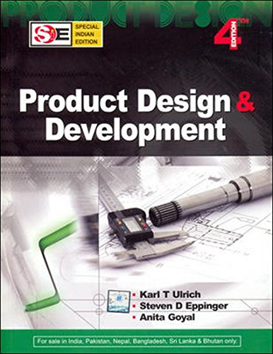 9780070146792: Product Design & Development international student edition