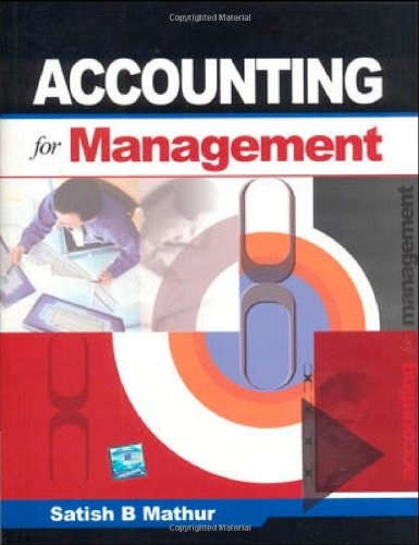 9780070146860: Accounting For Management