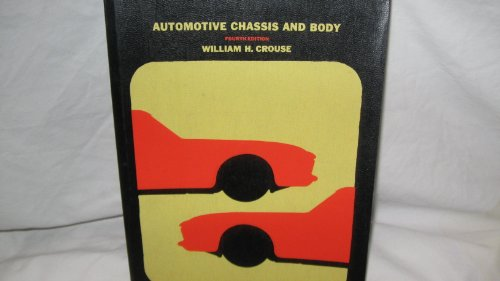 9780070146907: Automotive Chassis and Body (McGraw-Hill automotive technology series)