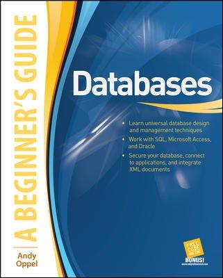 9780070147171: Databases: A Beginner's Guide