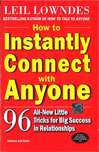 9780070147294: How to Instantly Connect with Anyone: 96 All-New Little Tricks for Big Success i