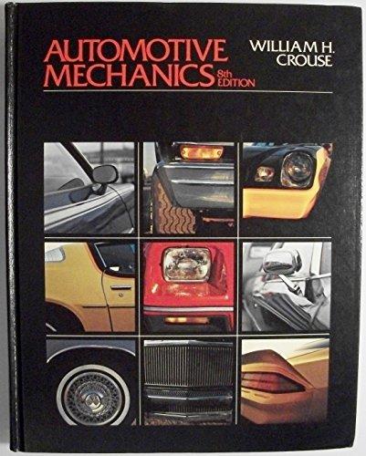 9780070148208: Automotive Mechanics