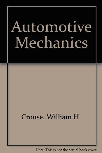 Automotive mechanics: Crouse, William Harry
