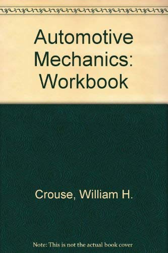 9780070148222: Workbook for Automotive Mechanics