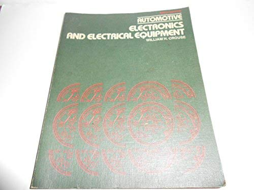 9780070148314: Automotive Electronics and Electrical Equipment
