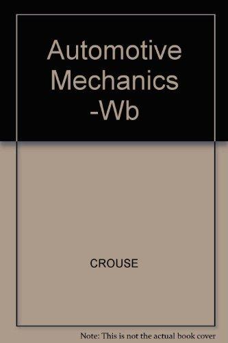 9780070148611: Workbook for Automotive Mechanics