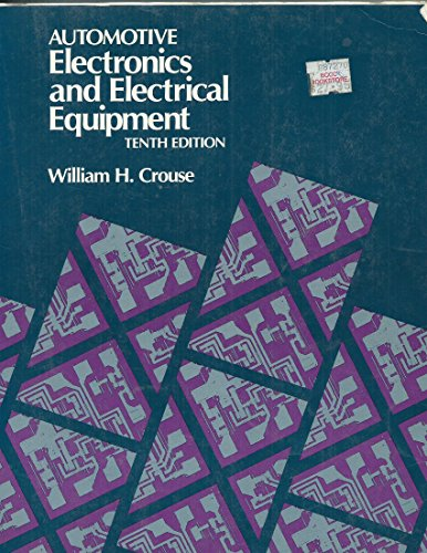 9780070148956: Automotive Electronics and Electrical Equipment