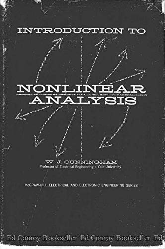 Introduction to Nonlinear Analysis: Cunningham, W J