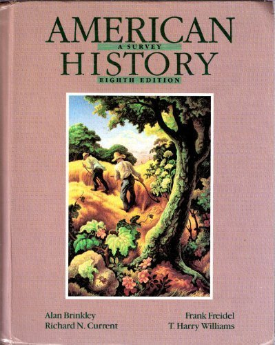 9780070150263: American History: A Survey