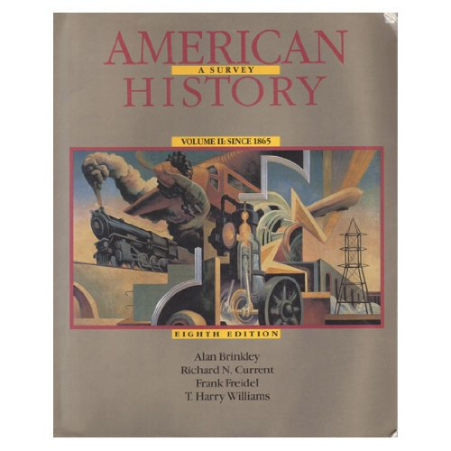 9780070150287: American History: A Survey, Vol. 2