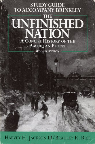 9780070151055: Study Guide to Accompany Brinkley: The Unfinished Nation: A Concise History of the American People