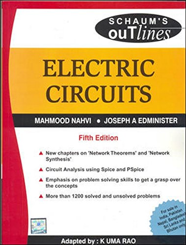 Electric Circuits, (Fifth Edition) (SIE): Joseph A. Edminister,K.