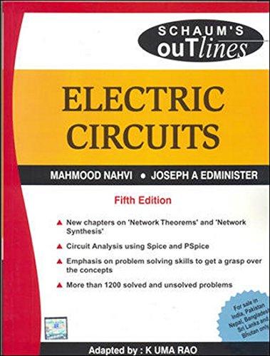 9780070151437: Electric Circuits (SIE), 5/e