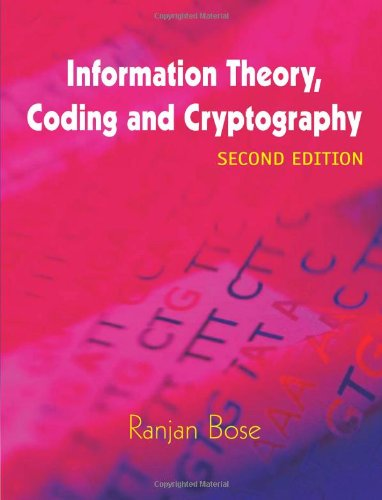 9780070151512: Information Theory, Coding and Crytography: 2/e