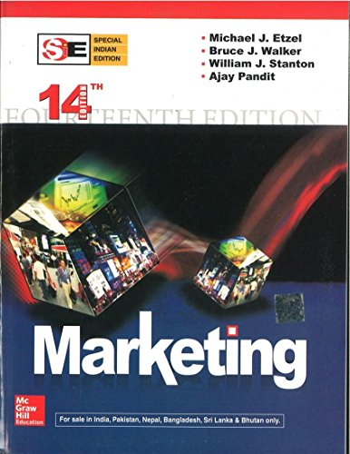 Marketing (Special Indian Edition): Ajay Pandit,Bruce Walker,Michael Etzel,William Stanton