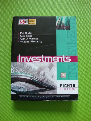 9780070151574: Investments 8th Edition - (Softcover International Edition)