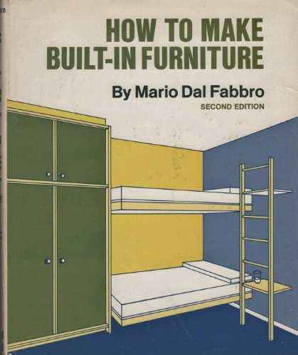 9780070151819: How to Make Built-in Furniture