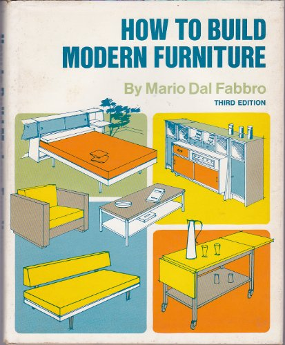 9780070151857: How to build modern furniture