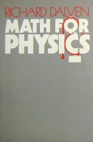 9780070152120: Mathematics for Physics