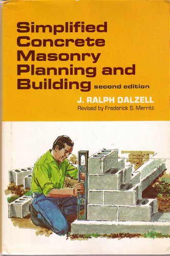 9780070152236: Simplified Concrete Masonry Planning and Building
