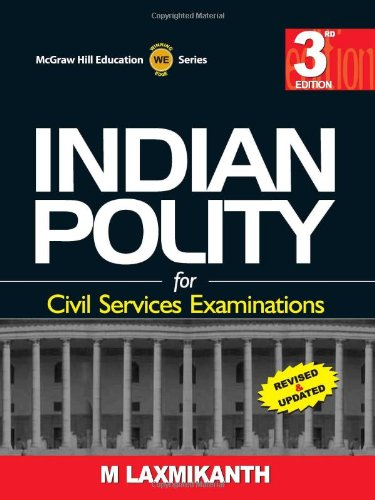 9780070153165: INDIAN POLITY FOR UPSC 3ED