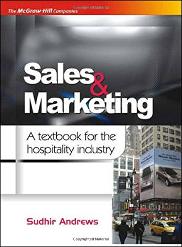 9780070153233: SALES & MARKETING : A TEXTBOOK FOR THE HOSPITALITY INDUSTRY