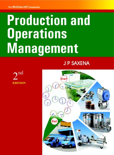 9780070153288: Production and Operations Management