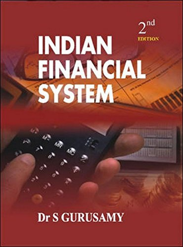 Indian Financial System (Second Edition): S. Gurusamy