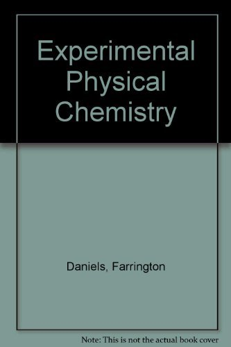 9780070153394: Experimental Physical Chemistry