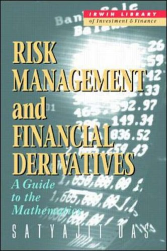 9780070153783: Risk Management and Financial Derivatives: A Guide to the Mathematics (Irwin Library of Investment & Finance)