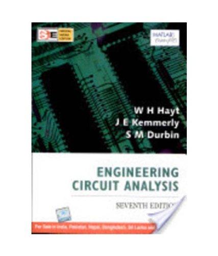 9780070153851: Engineering Circuit Analysis, 7/E (Sie) Pb