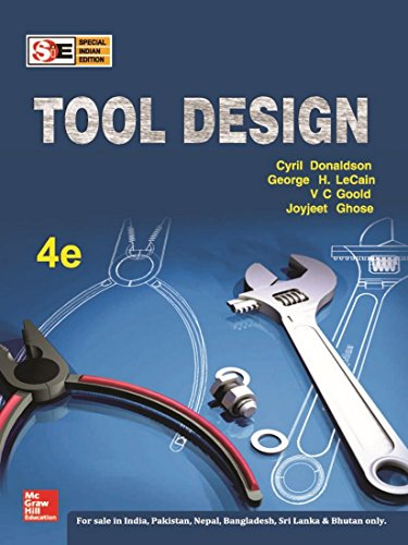 9780070153929: Tool Design (Special Indian Edition), 4Ed