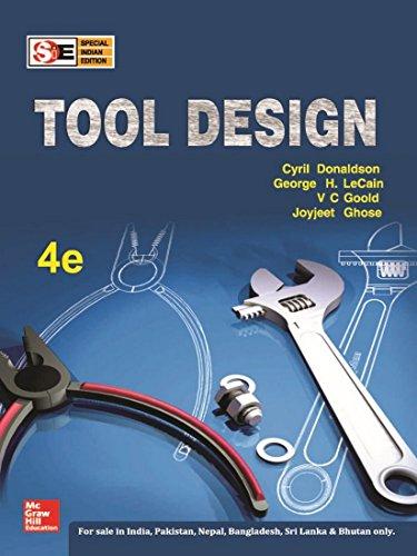 9780070153929: Tool Design (SIE)