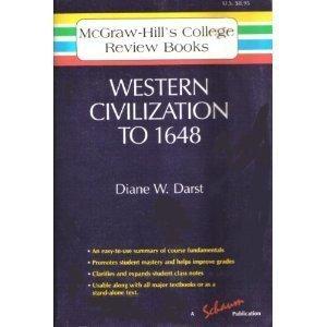 9780070153950: Western Civilization to 1648 (Mcgraw Hill College Core Books) (v. 1)