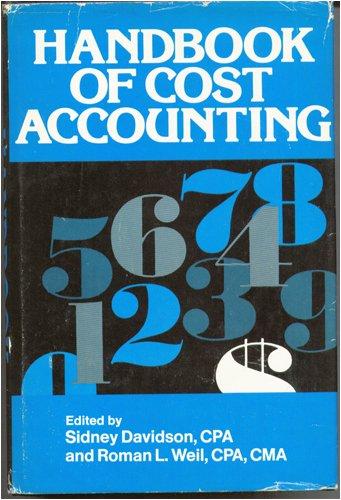 9780070154520: Handbook of Cost Accounting