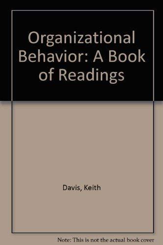 Organizational behavior: A book of readings (McGraw-Hill: Keith Davis