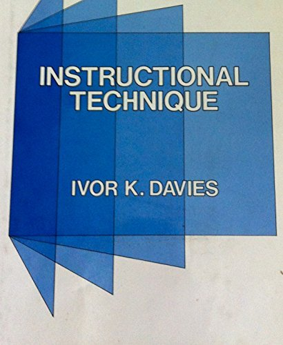 9780070155022: Instructional Technique
