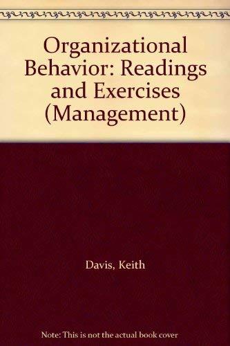 9780070155084: Organizational Behavior: Readings and Exercises (Management)
