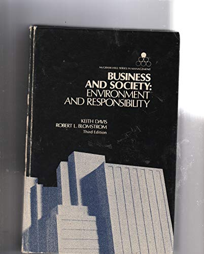9780070155244: Business and Society: Environment and Responsibility (Management)