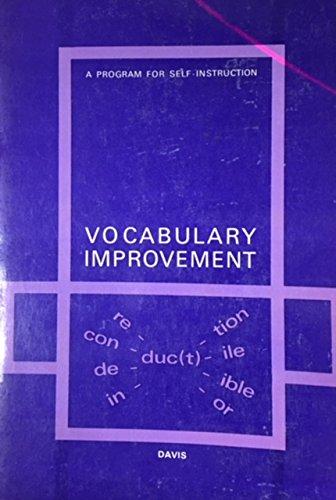 9780070155435: Vocabulary Improvement: A Program for Self-Instruction