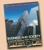9780070155619: Business and Society: Corporate Strategy, Public Policy, Ethics (The McGraw-Hill series in management)